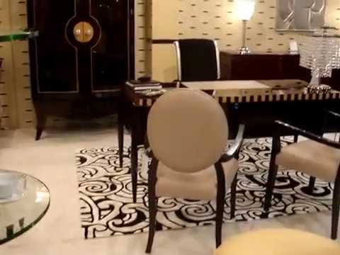 canap art d co paris dubai mobilier de luxe lustres buffet gen ve youtube. Black Bedroom Furniture Sets. Home Design Ideas