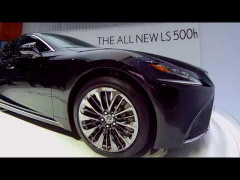 Обзор Lexus LS 500h - первый взгляд | Премьера, Женева 2017
