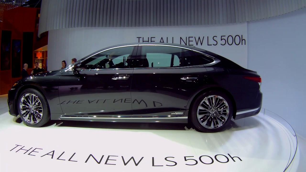 Обзор Lexus LS 500h - первый взгляд   Премьера, Женева 2017