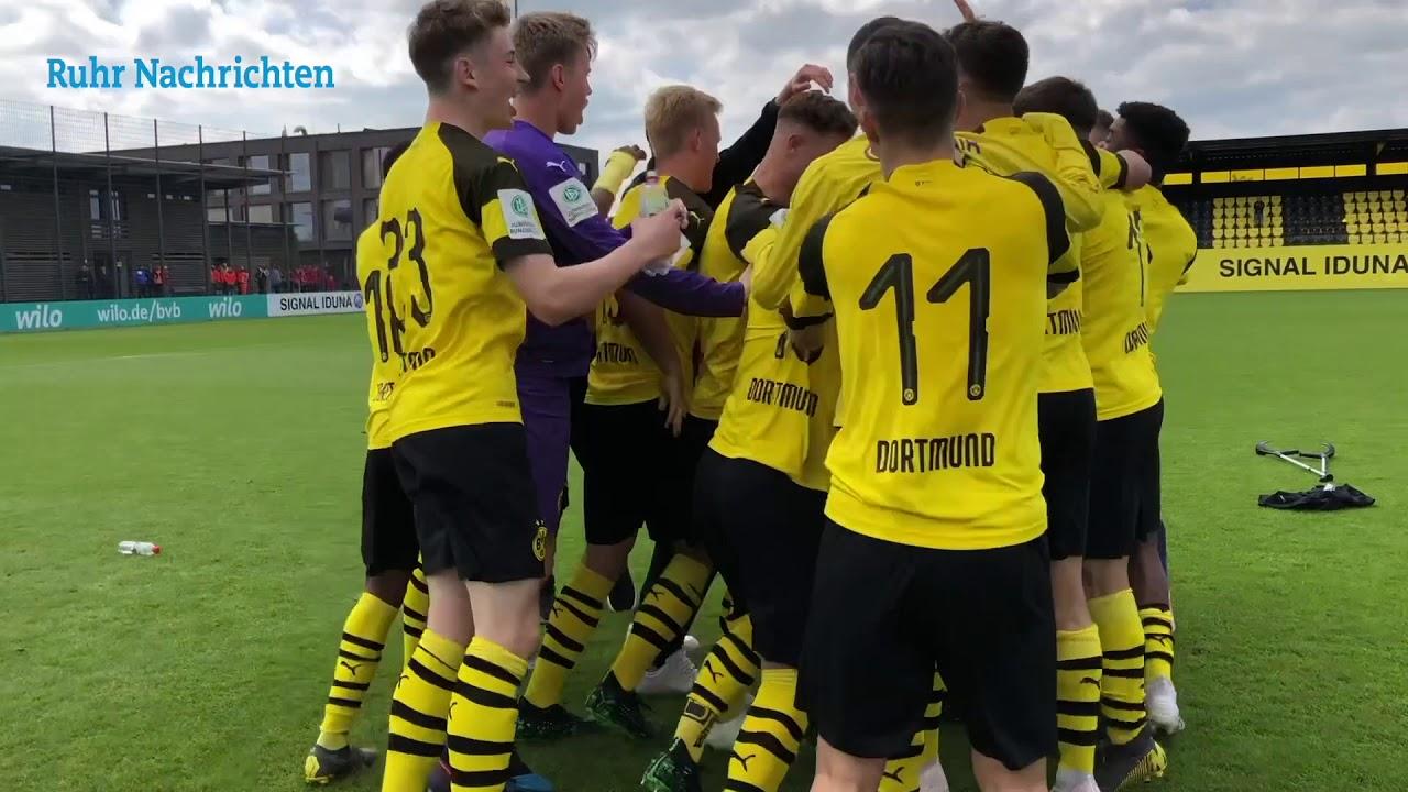 Die BVB-U17 sichert sich die Westdeutsche Meisterschaft