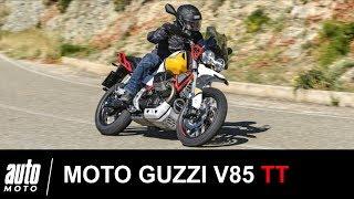 Moto Guzzi V85 TT Essai POV Auto-Moto.com