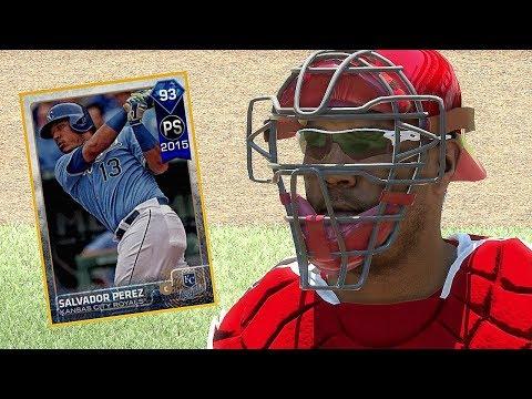 DIAMOND SALVADOR PEREZ DEBUT!! MLB THE SHOW 17 DIAMOND DYNASTY