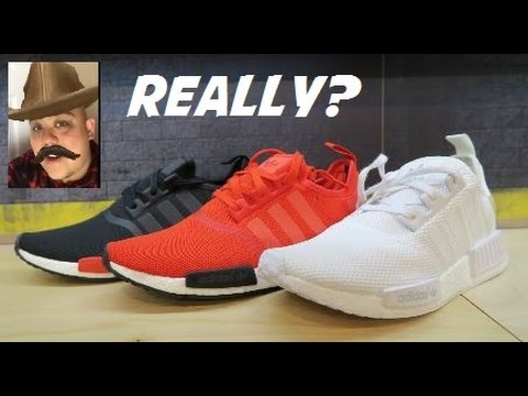Adidas NMD XR1 PK OG Core Black Blue Red Primeknit BY1909 DS