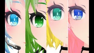 [MMD] Rather Be - Miku, Luka, Rin, Gumi ft. ???? (Motion Download)