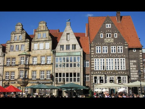 Bremen, Germany. TRAVEL VIDEO
