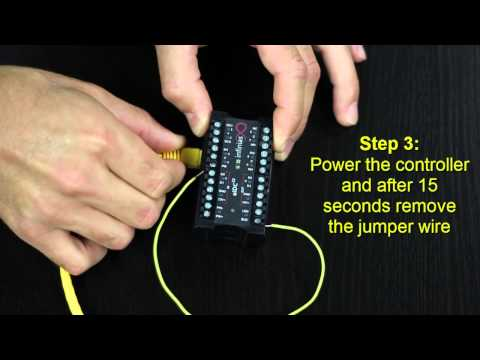 how to wire reader in infinias door kit youtube rh youtube com Basic Electrical Wiring Diagrams Wiring Diagram Symbols