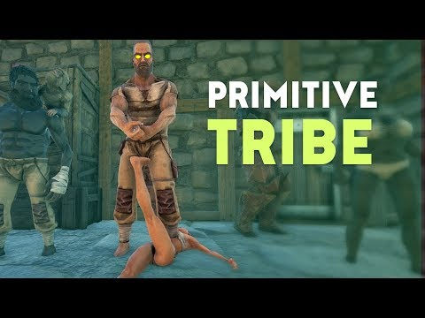 WHAT IT'S LIKE BEING IN MY TRIBE | Ark Survival Evolved Primitive PvP E1