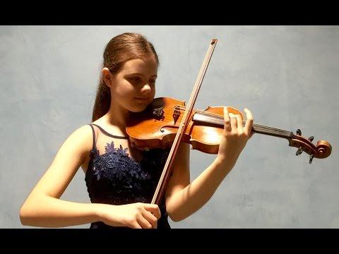 "Inés Issel plays ""Faust"" Fantasy by H.Wieniawski"