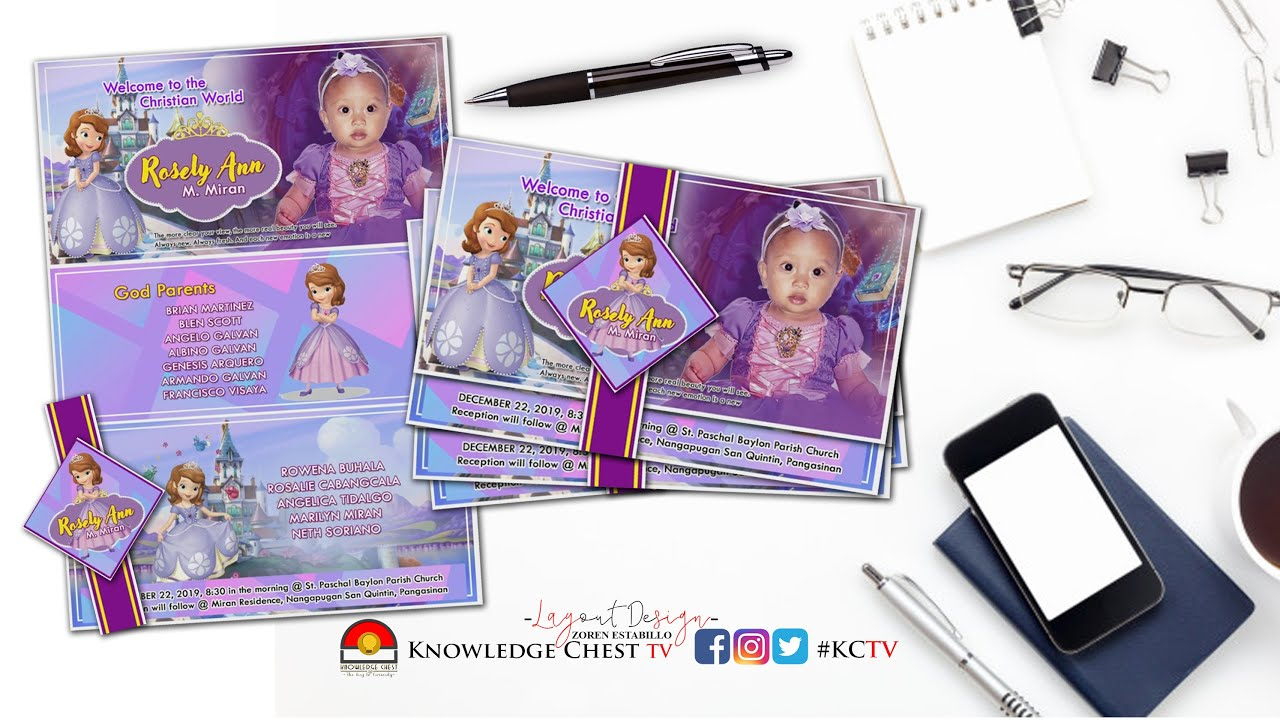 diy invitation ideas sofia the first personalized invitation for birthday kctv designs