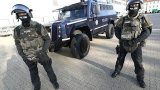 Neue Anti-Terror-Ausrüstung: Hamburg Polizei rüstet massiv auf