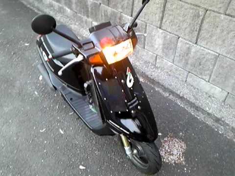 honda  dash af cc japanesescooter nagasaki city dio zx youtube