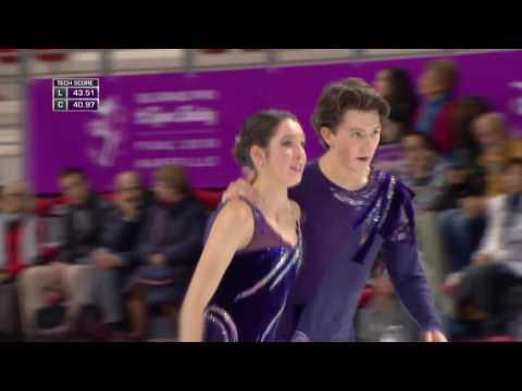 2016 ISU Junior Grand Prix Final - Marseille - Free Dance - Lorraine MCNAMARA / Quinn CARPENTER USA