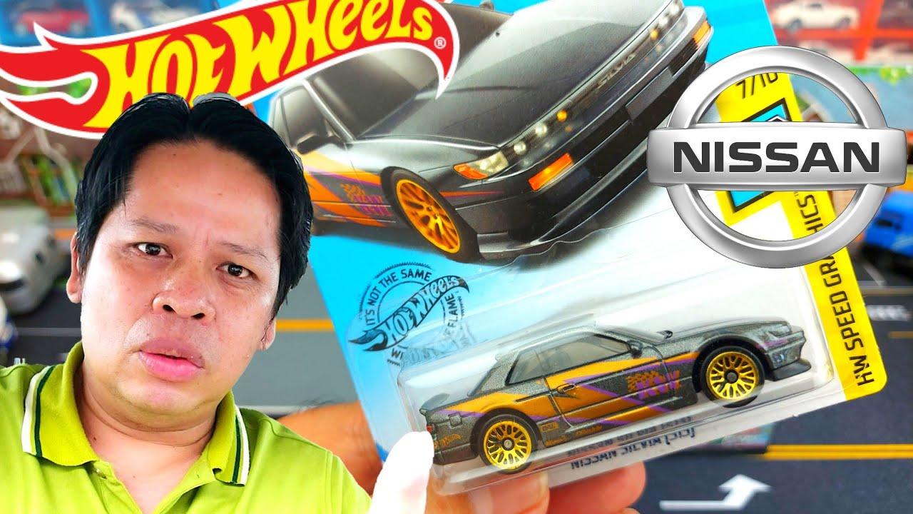 รถเหล็กฮอตวีลงานสวย Nissan Silvia S13 Hotwheels|C2Kun