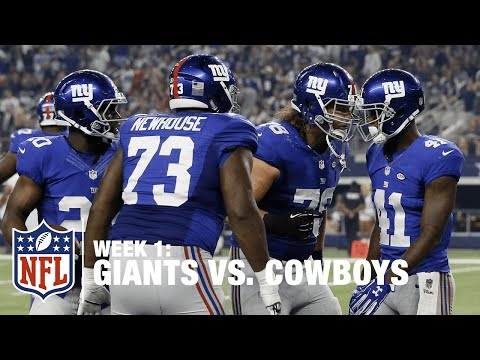 Dominique Rodgers-Cromartie Takes Fumble to the House | Giants vs. Cowboys | NFL