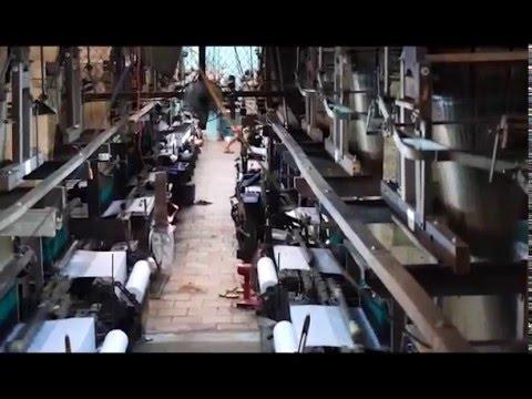 Silk Weaving Factory in Tan Chau Village, Veitnam
