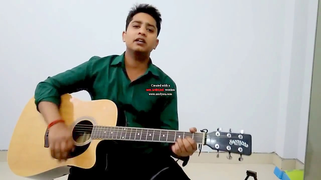 Pal Pal Dil Ke Paas Guitar Lesson Easy Chords With Strumming Pattern
