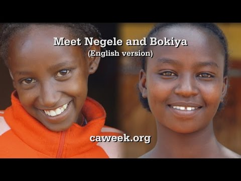 Christian Aid Week 2015: Meet Negele & Bokiya