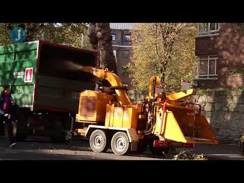 Dublin's post-Ophelia cleanup operations