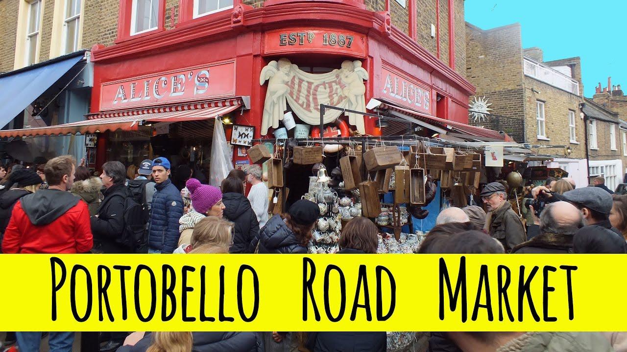portobello road market notting hill london shopping antiques fashion food more travel. Black Bedroom Furniture Sets. Home Design Ideas