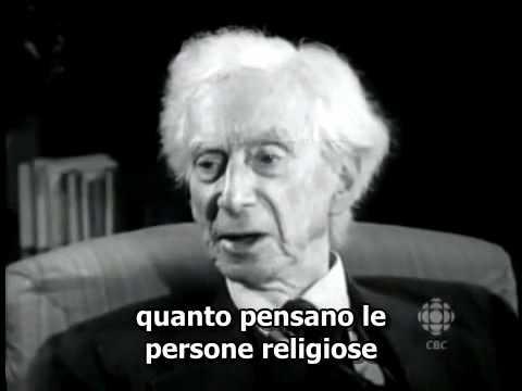 Bertrand Russell a proposito di Dio e religione