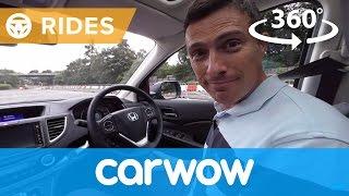 Honda CR-V SUV 2017 360 degree test drive | Passenger Rides