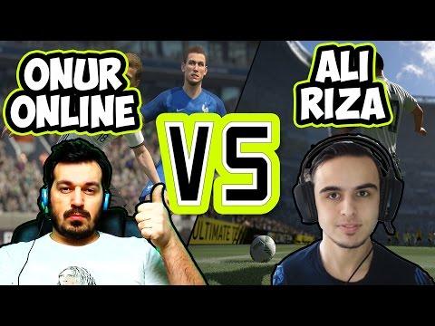 Best Fifa Player Ali Rıza Aygün vs OnurOnline / Özel Maç