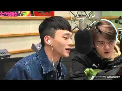 FANBOY EXO CHEN&SEHUN listening ''''DREAM'' song of SUZY & BEAKHYUN