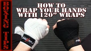 Boxing Tip How To Wrap Your Hands With 120 quot Wraps