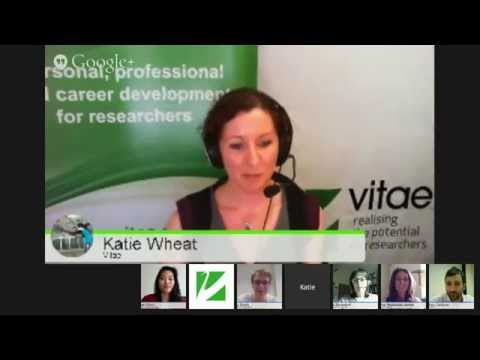 #vitae14 How to start a business after your PhD?