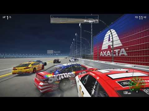 NASCAR Heat 2 Crash Compilation #1 |