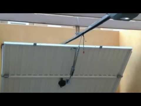 Puerta basculante con muelle 1 by automatismosalhambra - Automatismo puerta basculante ...