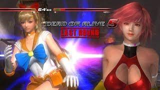 Dead or Alive 5 Last Round Naotora vs Hitomi PC Mod