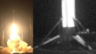 Falcon 9 launches Telstar 19V & Falcon 9 landing