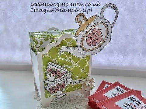 Craft fair idea...Tea caddy
