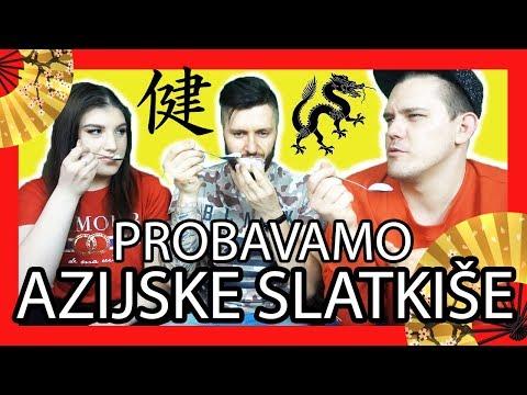 Isprobavanje Azijskih slatkiša with Ivana & Dennis Domian