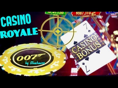 ★ FIRST TRY! ★ JAMES BOND CASINO ROYALE slot machine BONUS BIG WINS! - 동영상