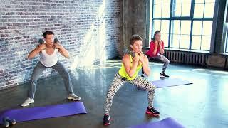 Силовая тренировка с гантелями 1 - видео для занятий дома