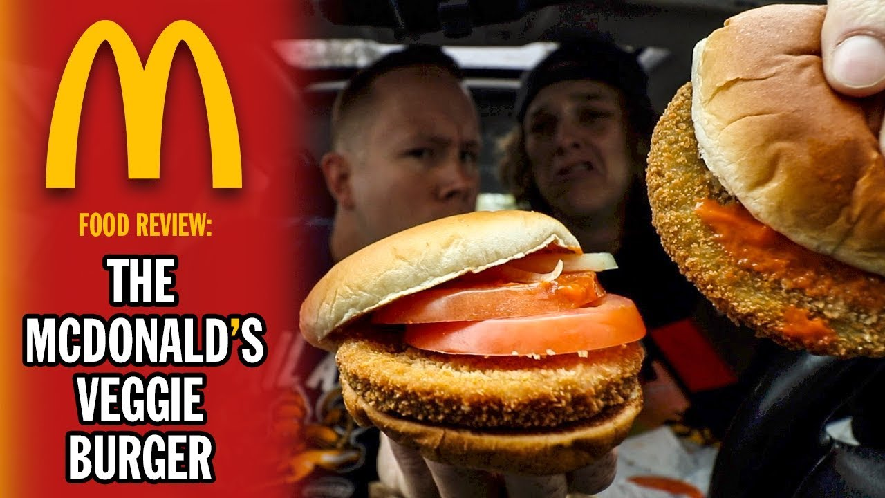 Eating the McDonald's Veggie Burger | *RARE ITEM*