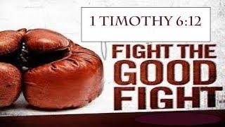 Fight The Good Fight 101218: Faith. Doubt. Self Pity.