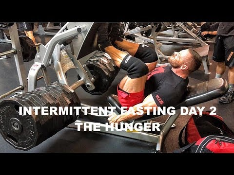 Intermittent Fasting Experiment Day 2   Feeling the Hunger