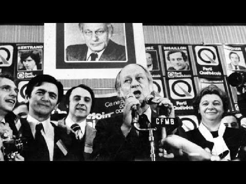Le Parti Québécois prend le pouvoir - 15 novembre 1976
