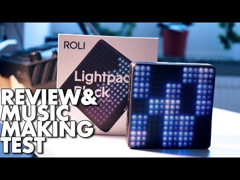Testing out Roli Lightpad Block - It has an awsome scale mode!
