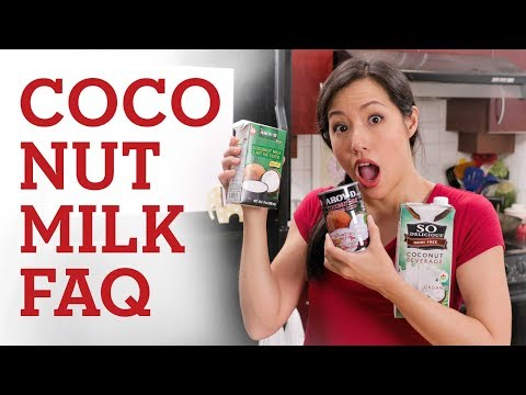 Ultimate Guide To COCONUT MILK - Hot Thai Kitchen