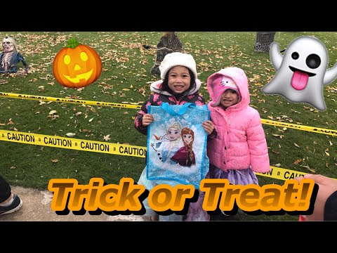 Trick or Treating at MARS FACTORY Northern America