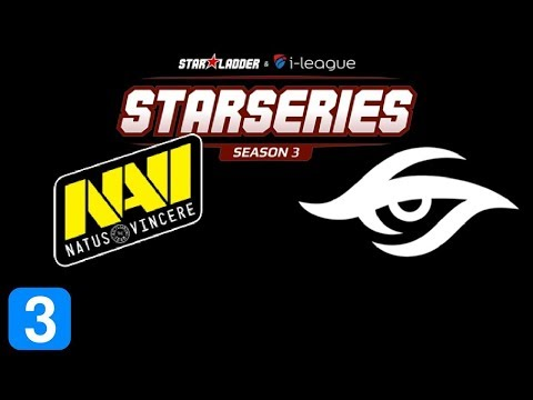 Navi vs Secret Game 3  SL i-League Invitational Season 3 Highlights Dota 2