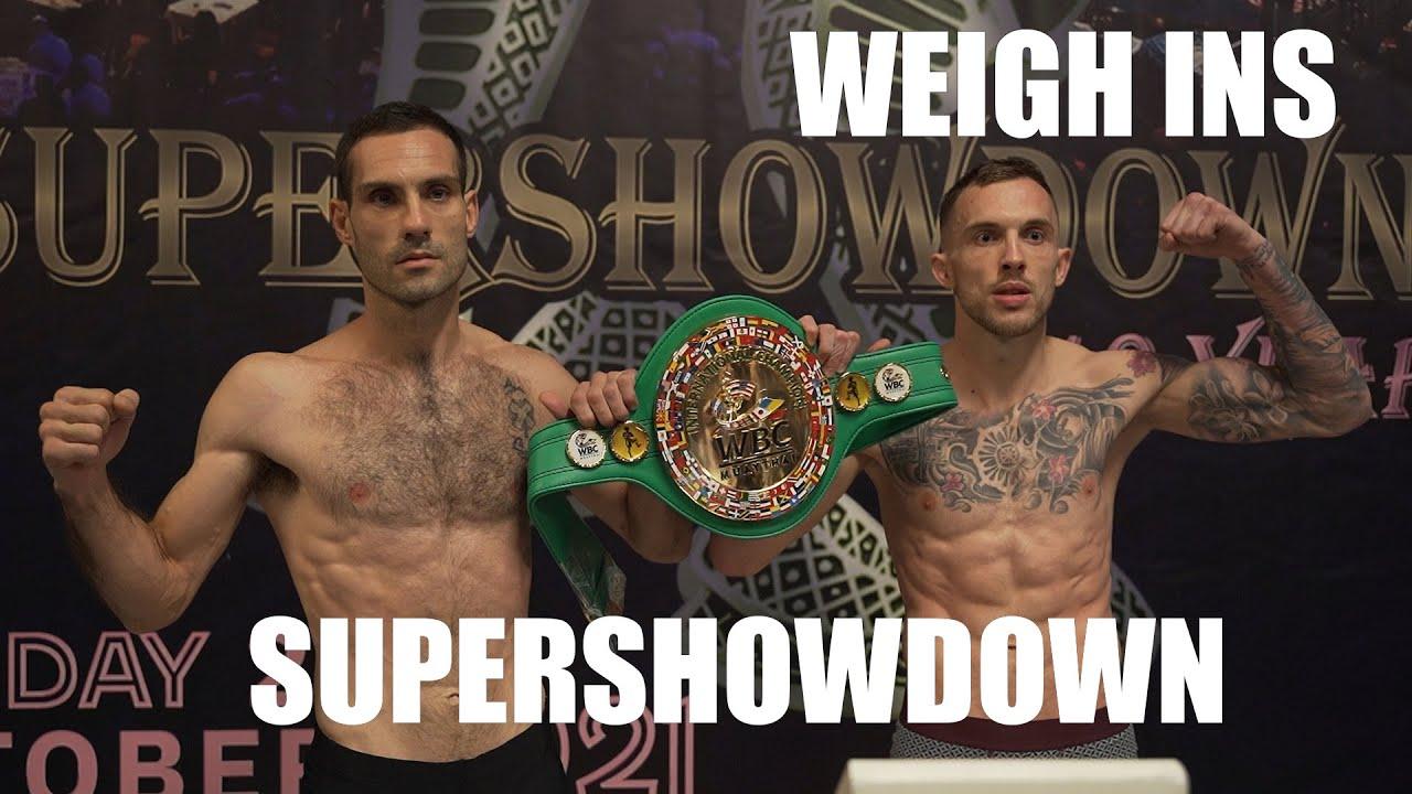 Download Supershowdown Weigh-Ins | Siam Boxing | Muay Thai