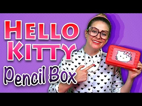 Back to School: Hello Kitty Pencil Case Craft & More!