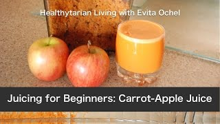 Gambar cover A Beginner's Juicing Recipe: Carrot Apple Juice