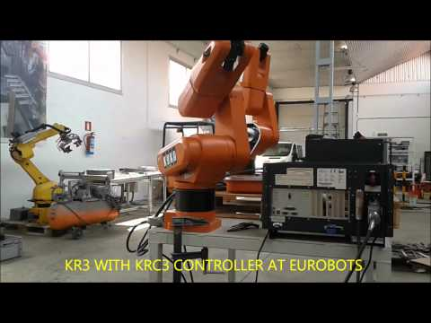 KR3 WITH KRC3 AT EUROBOTS