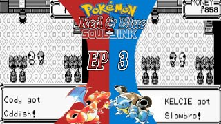 Pokemon Red and Blue Randomizer Soul Link Nuzlocke Ep. 3-  Mt.  Moon Part 1